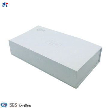 Cardboard folding paper magnet electronic box