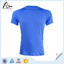 T-shirt básico dos esportes dos homens camisetas