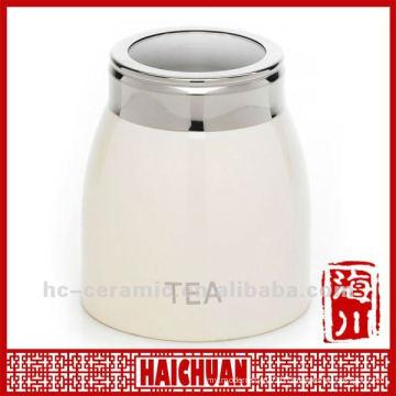 Ceramic tea canisters airtight, tea canisters wholesale
