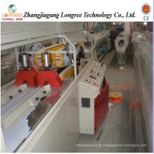 Linha de produção de tubo duplo de esgoto de PVC