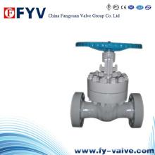 API598 Válvula de compuerta de cuña sólida de hierro fundido manual