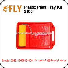 red plastic Paint Tray Kit