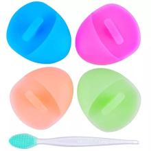 Nettoyant pour le visage en silicone super doux