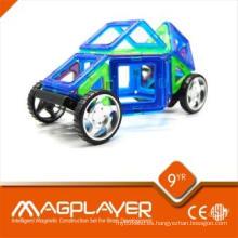Combinación de plástico magnético conectar juguetes Funny Preschool School