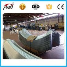 Kundenspezifische Schraube Gelenk Metall Bogen Dach Farbe Stahlblech