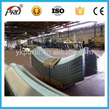Customized Screw Jointed Metal Arch Roof Color Steel Sheet