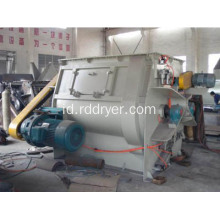 Double Shaft Horizontal Paddle Mixing Equipment untuk Detergent Powder
