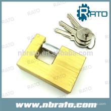 RP-188 U Type Brass Padlock with Hidden Shackle