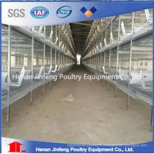 Cages de ponte d'oeuf de poulet d'équipement de ferme maniable