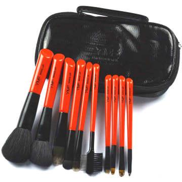 Travel Cosmetic Brushes Set (s-10)