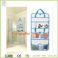 Hanging Mesh Storage Bags Organizer with 6 Compartments for Kids Toy Storage/hanging Mesh Organizer