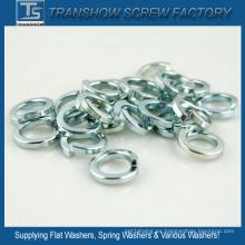 Arandelas de seguridad de acero galvanizado