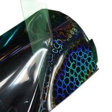 Factory Wholesale Custom Cutting HTV Rolls PU Optical Heat Transfer Vinyl Printable for Clothing