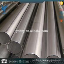 ASTM A581 Tubo redondo de acero inoxidable pulido de 6 mm de diámetro AISI 316L