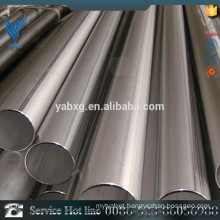 GB 702 2B and pickled AISI304L stainless steel round pipe