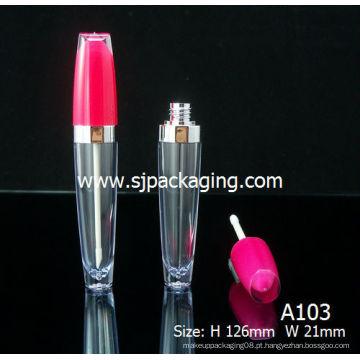 Embalagem de tubos de brilho labial