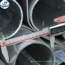 5 pouces galvanisé en acier tuyau classe b usine prix