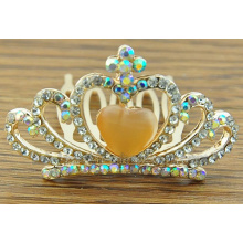 Kids Cute Gemstone Magic Birthday Gift Fashion Crown Combs