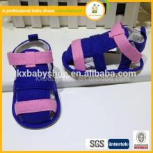 Новое прибытие самый продаваемый тип ткани высокого качества хлопок ткани цветастый flip flop младенец детей сандалии