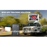GPS Vehicle Tracker with RFID for Driver Identify