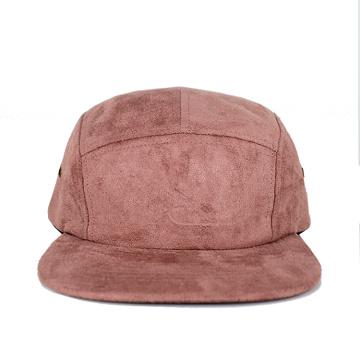 горячая распродажа 5 панель хип-хоп замши Кемпер шляпа