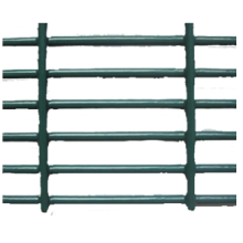 Hot-dicelup Galvanized 358 Mesh Fence