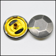 Acessórios de vestuário botão Snap Material básico de latão