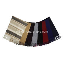 Top Grade Cashmere Pure Color Tassel Scarf