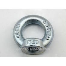 Din582 de forjado galvanizado gota tuerca de ojo--Qingdao aparejos