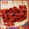 Approvisionnement d'usine séché Ningxia origine goji berry