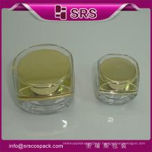 Récipient de bouteille en plastique SRS, pot de cosmétiques, bouteilles de cosmétiques 5g pour ongles