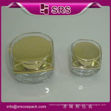 SRS plastic bottle container ,cosmetic jar,5g cosmetic bottles for nail