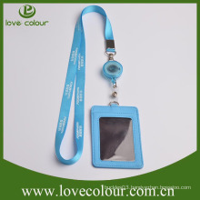 Custom waterproof custom logo leather ID card holder