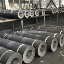 UHP200mm-650mm Graphite Electrode with nipples for EAF