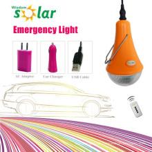 Wiederaufladbare led-Notfall-Lampe Licht mit eingebauter Batterie