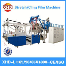 plastic stretch wrapping film extruder machine