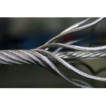 Stahldraht, Stahlkabel, verzinkt Stahldraht Rop 7X7 Durchmesser 10mm