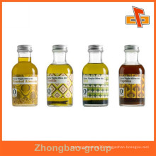 Guangzhou factory customizable environmentally friendly shrinkable labels for essential oil bottles with printing