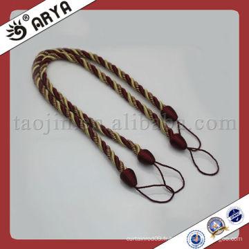 Corde décorative pour cravate en rideau