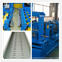 Fully Automatic Cable Tray Rollformer with PLC Touch Screen