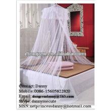 Diseñador chicas cúpula cama mosquiteros para DRCMN-2