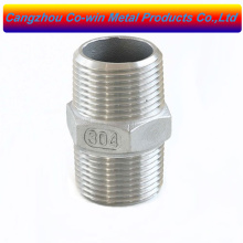 stainless steel hex nipple 1/2 inch