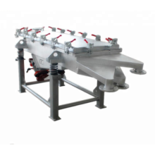 Linear vibration sieve machine