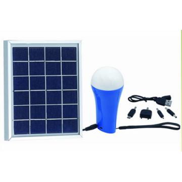 1.5W wiederaufladbare Solar LED Home Light mit Taschenlampe