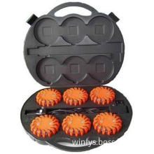 Rechargeable LED Road Flares Kit 6 Pack