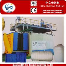Máquina de moldeo por soplado de 3 capas en HDPE
