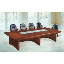 Mesa de reunião pequena de madeira para sala de conferências