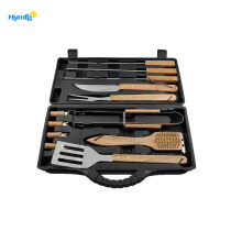 Set con 13 accessori per barbecue attrezzi per barbecue