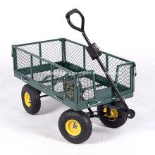 Heavy Duty Garden Trolley Track Cart