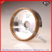 130mm metal diamante moagem roda para vidro abrasivo